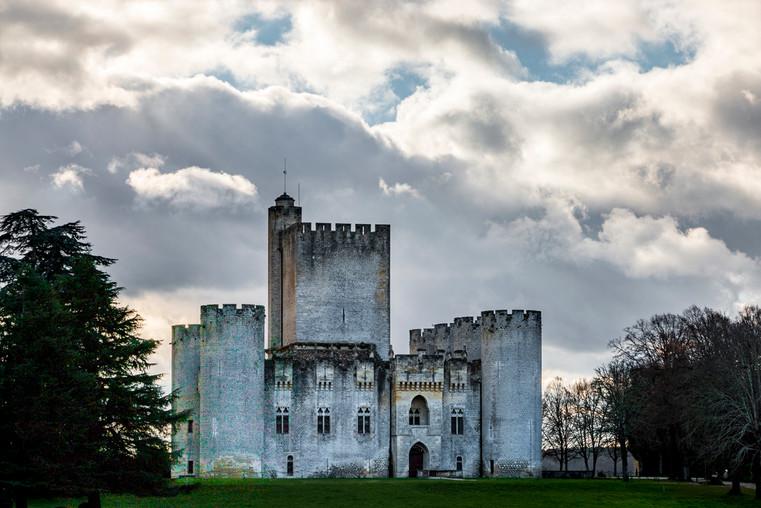 Château de Roquetaillade, Gironde 25.12.