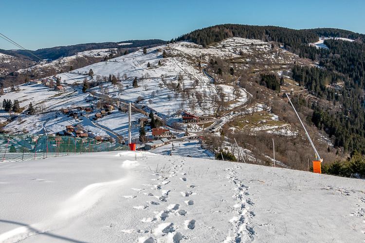 domaine skiable et montagnes
