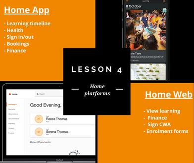 Xplor Home Lesson 4: Home Platforms