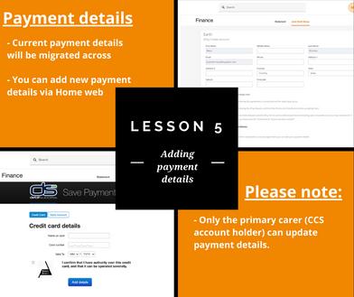 Xplor Home Lesson 5: Adding payment details