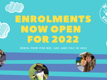 2022 Re-Enrolment and New Enrolments for Wilston Kids Care