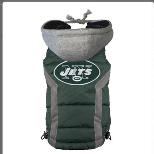 NY Jets Puffer Vest