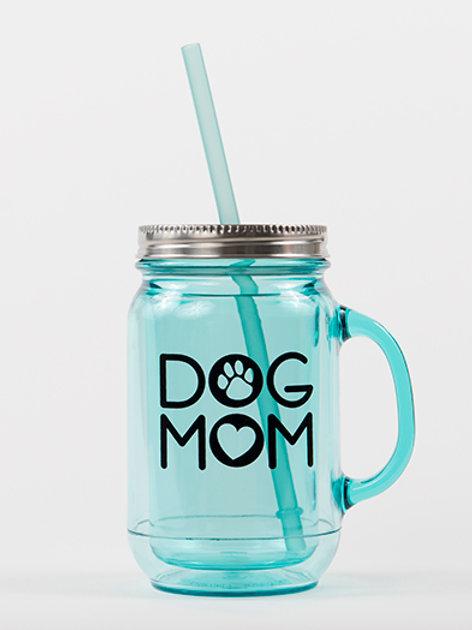 Dog Mom Mason Jar