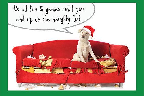 Holiday- Naughty or Nice List?