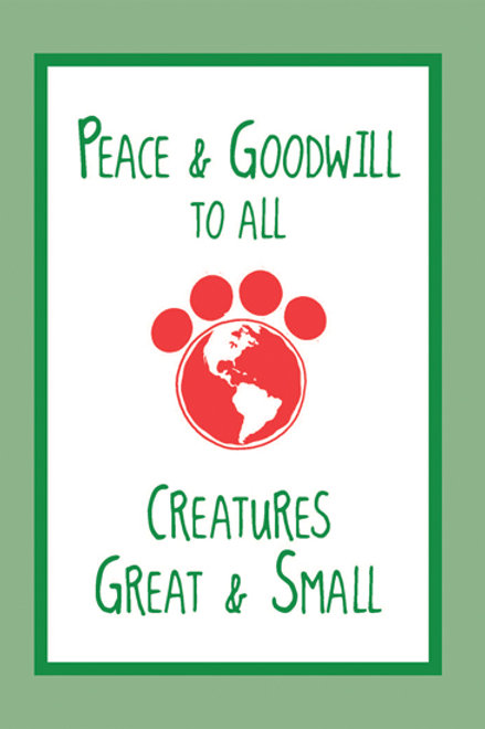 Holiday- Peace and Goodwill to all..