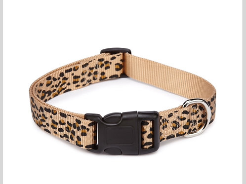 Cheetah Print Collar