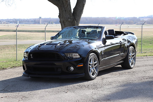 2014 Ford Mustang Shelby GT-500 Convertible