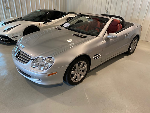 2003 Mercedes Benz SL 500