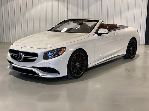 2017 Mercedes Benz S63 AMG Cabriolet