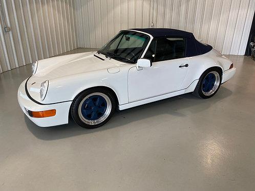 1990 Porsche 911 C2 Cabriolet