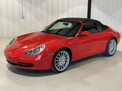 2001 Porsche 911 Carrera Cabriolet (996)