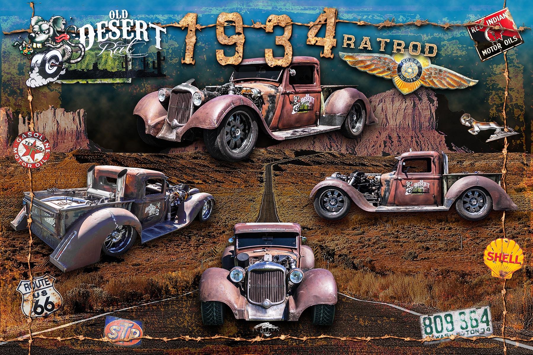 1934 Desert Ratrod