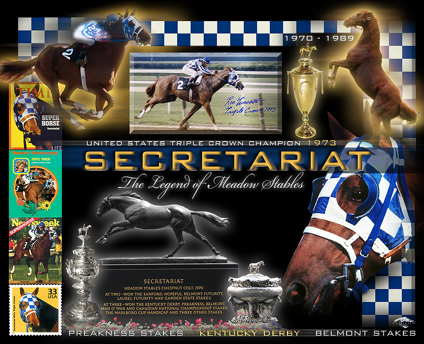 Secretariat - Triple Crown winner
