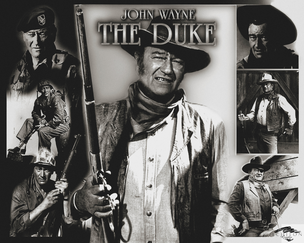 John Wayne artwork