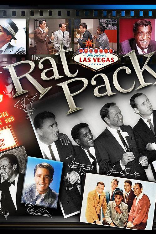 Rat Pack 16x20in. (paper)