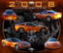2008 LS3 Corvette Montage, Display Boards, Corvette Displays, Corvette Boards, Corvette Signs, Corvette Artwork, Vintage Car Show Display Boards, Muscle Car Display Boards, Muscle Car Sign Boards, Ratrod Display Boards, photo artwork, Classic Car Show Display Boards, Classic Car Show Signage, Car Show Display Board Ideas, Automotive Artwork