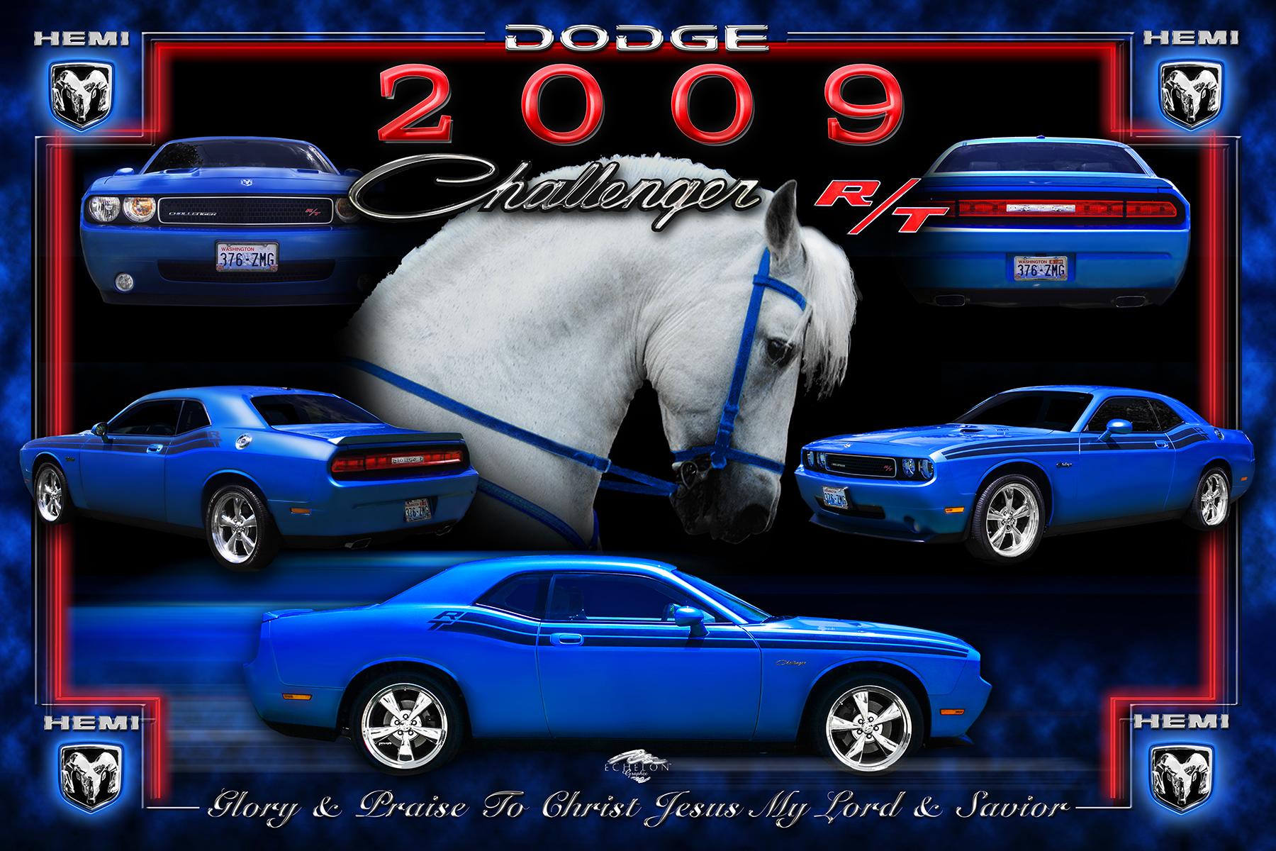 2009 Challenger Autographix Montage
