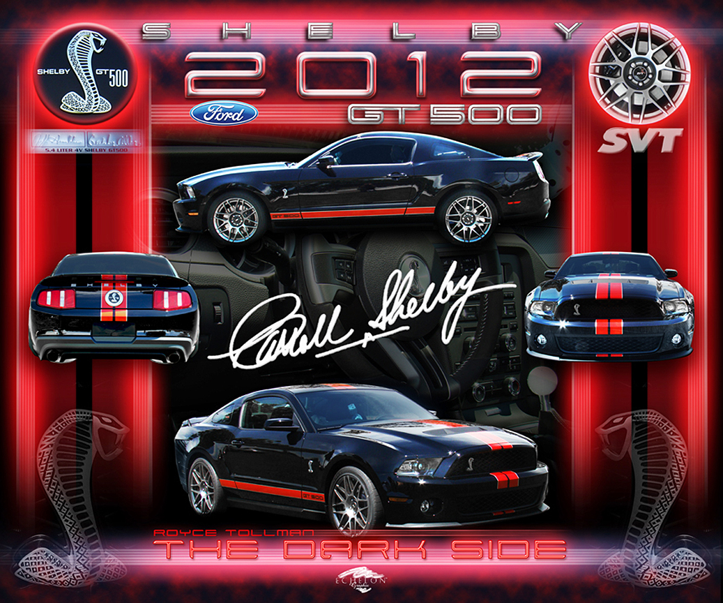 2012 Shelby Cobra Artwork