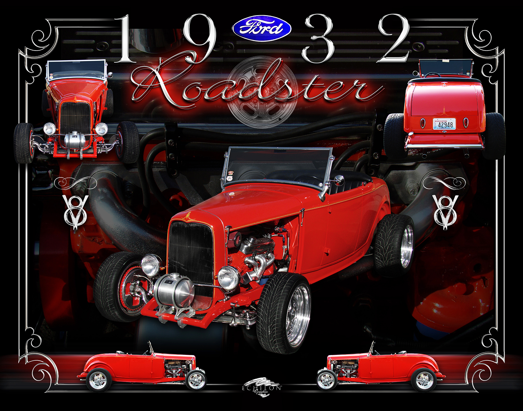 1932 Ford Roadster Autographix