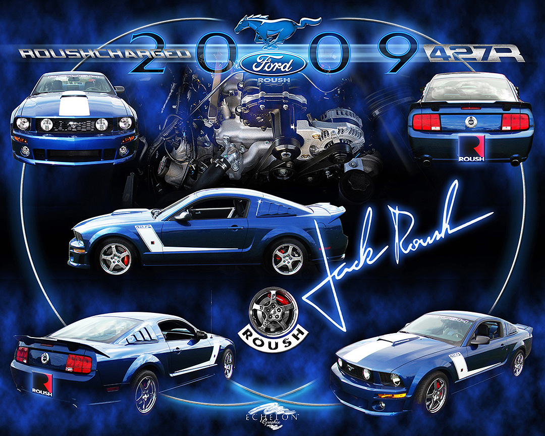2009 Rouch Mustang Autographix