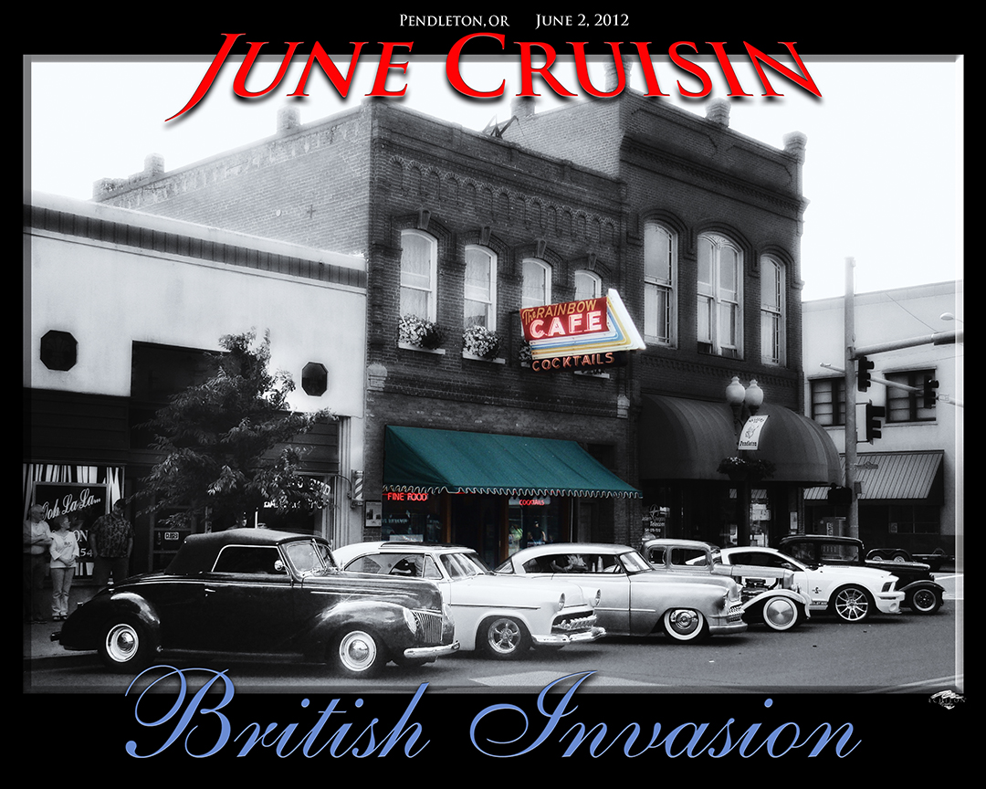 2012 June Cruisin photo artwork