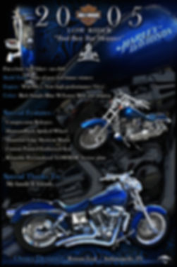 2005 Harley Davidson, auto artwork, graphic design, autographix, custom posters, Echelon Graphix, car shows, car show boards, car show displays, auto montage, mustang, shelby, corvette, chevy, chevelle, muscle cars, street rods, classic cars