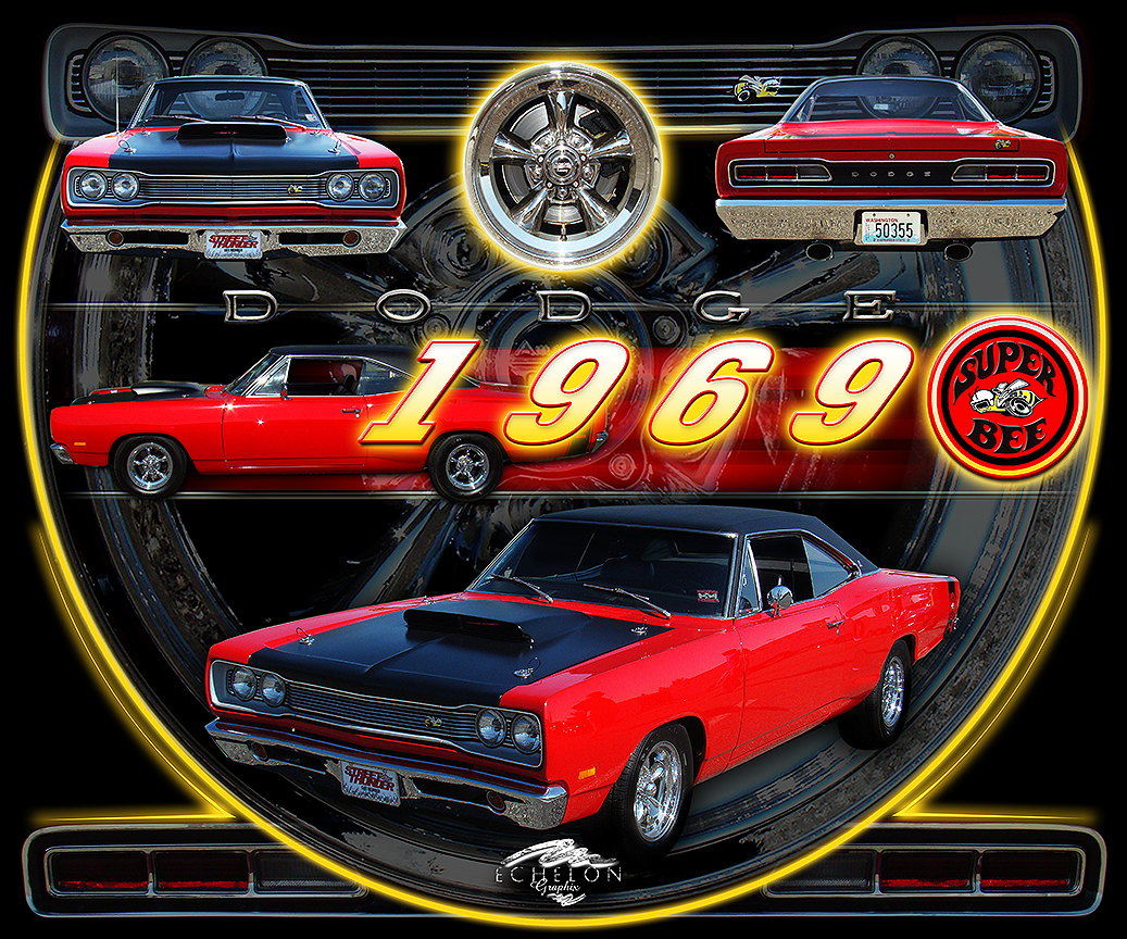 1969 Dodge Super Bee Autographix
