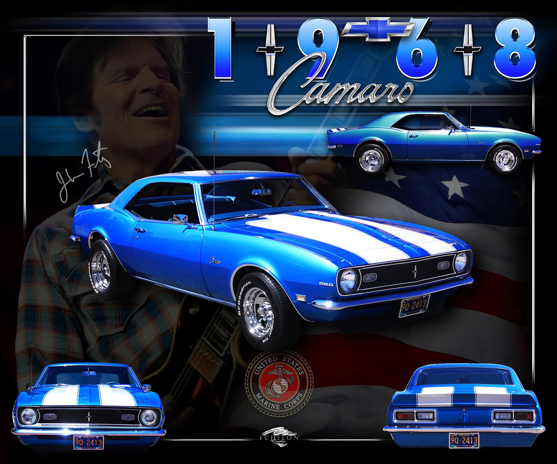 1968 Camaro w/ John Fogerty theme