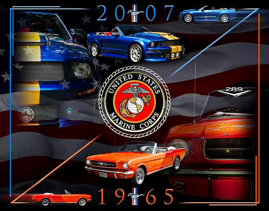1965, 2007 mustang artwork