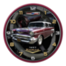 19577 Nomad Car Clock, car clocks, auto clocks, custom clock design, custom clocks