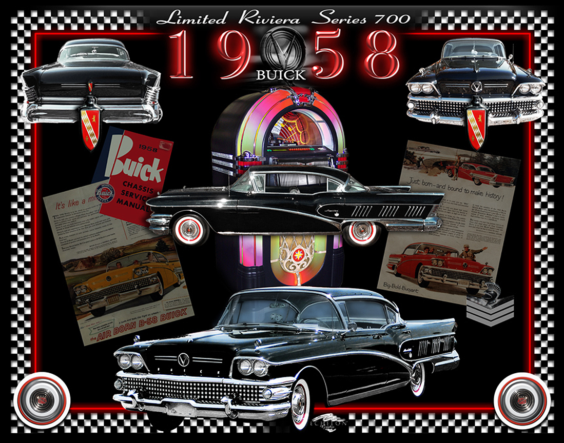 1958 Buick Autographix Montage