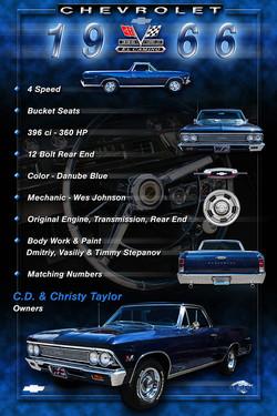 1966 Chevy El Camino DB