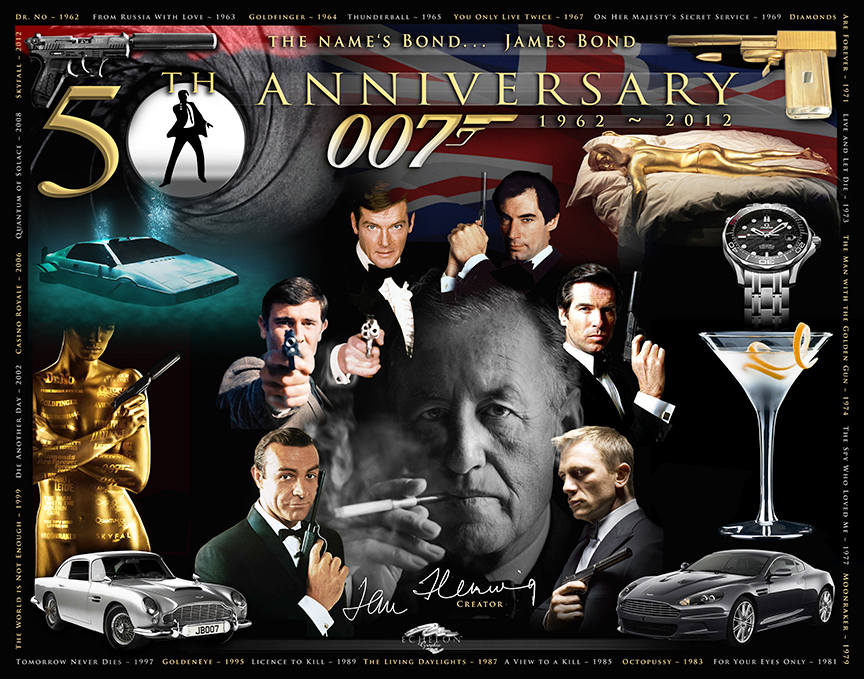 BOND 50 Years Photographix