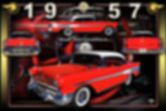 1957 Pontiac montage, Motorcycle Display Boards, Mustang Display Boards, Display Boards, Corvette Displays, Corvette Boards, Corvette Signs, Corvette Artwork, Vintage Car Show Display Boards, Muscle Car Display Boards, Muscle Car Sign Boards, Ratrod Display Boards, photo artwork, Classic Car Show Display Boards, Classic Car Show Signage, Car Show Display Board Ideas, Automotive Artwork