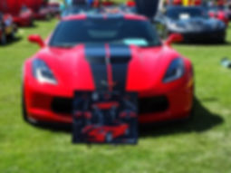 corvette artwork, car show stands, car show display boards, automotive artwork, custom posters, Echelon Graphix, car shows, car show boards, car show signage, auto montage, mustang, shelby, corvette, chevy, chevelle, muscle cars, street rods, classic cars