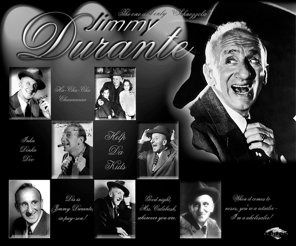 Jimmy Durante artwork