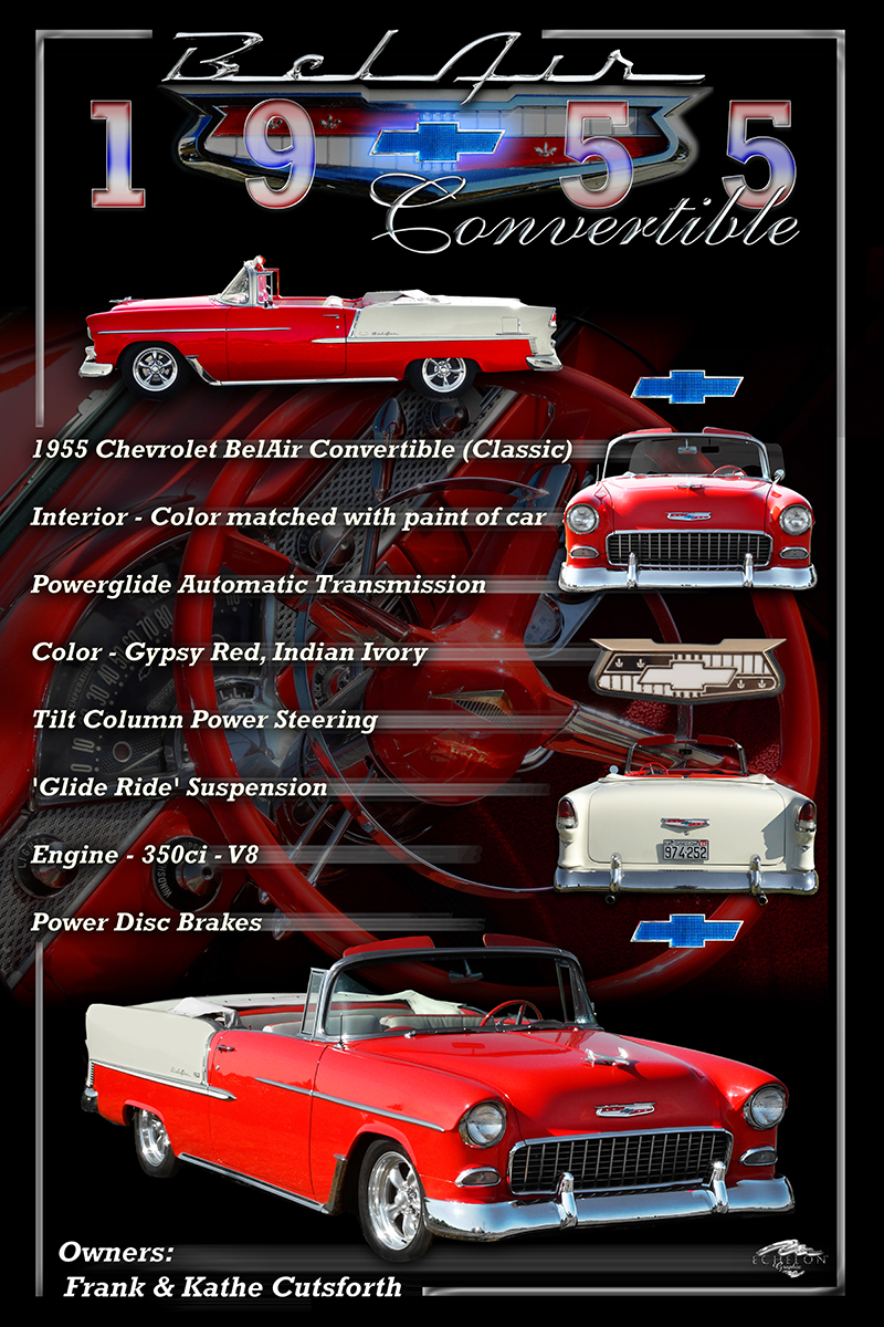 1955 BelAir Display Board