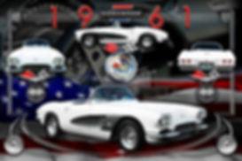 1961 Corvette Artwork, Display Boards, Corvette Displays, Corvette Boards, Corvette Signs, Corvette Artwork, Vintage Car Show Display Boards, Muscle Car Display Boards, Muscle Car Sign Boards, Ratrod Display Boards, photo artwork, Classic Car Show Display Boards, Classic Car Show Signage, Car Show Display Board Ideas, Automotive Artwork