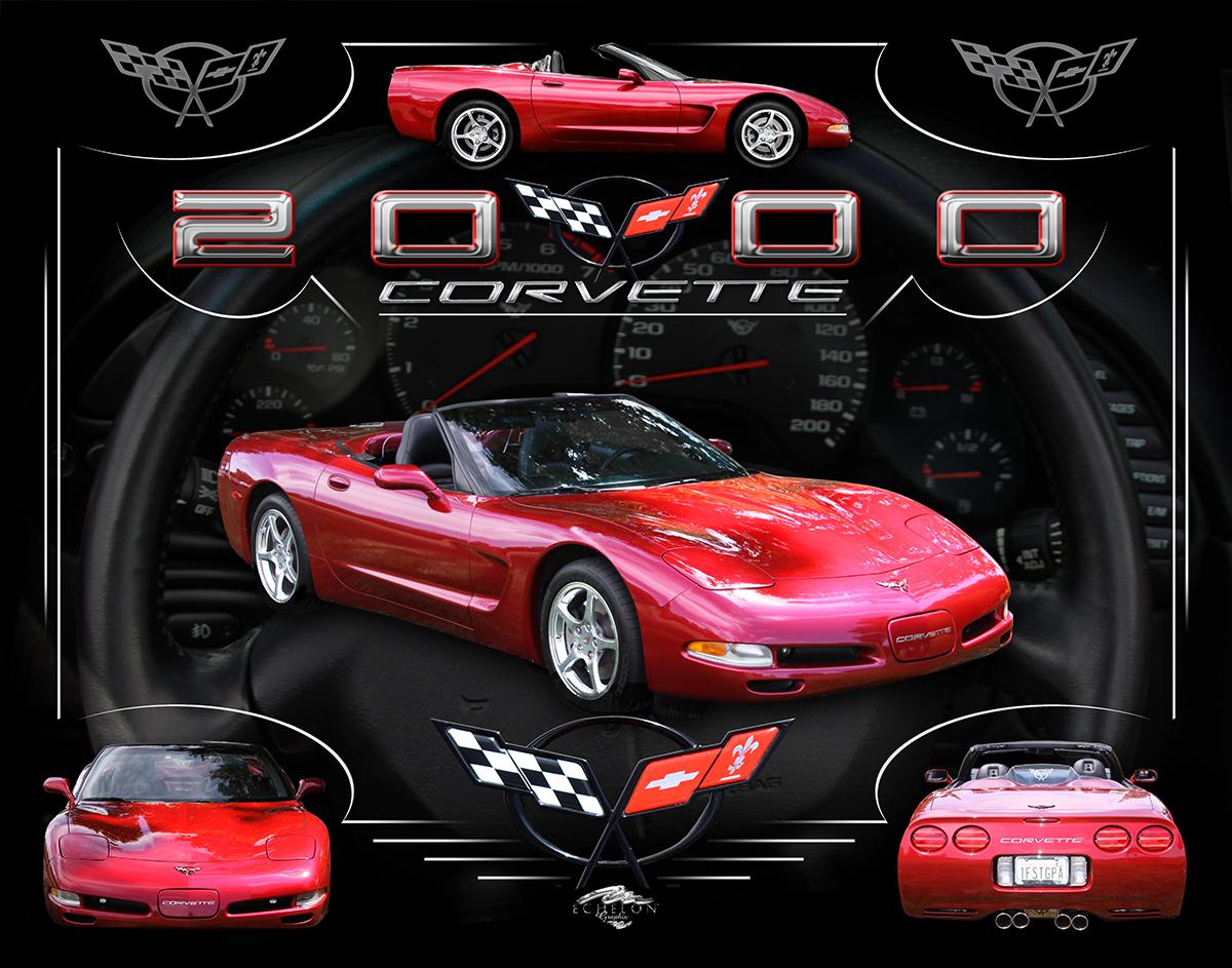 2000 vette Autographix artwork