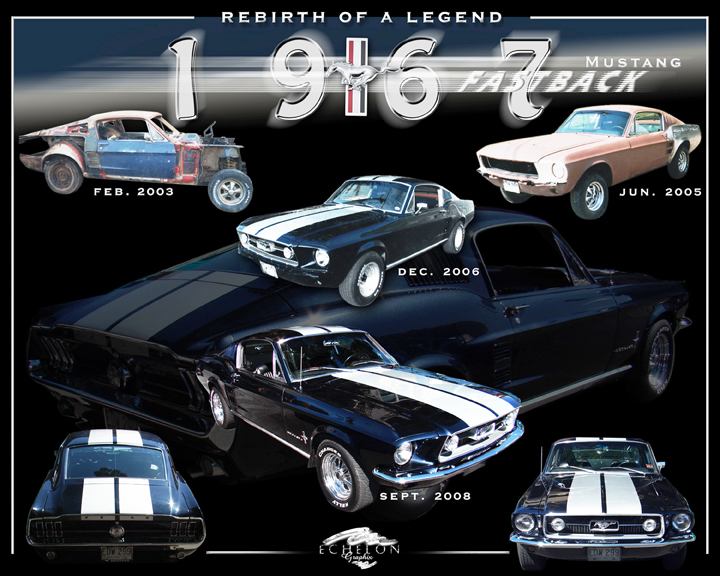 1967 Mustang Fastback Autographix