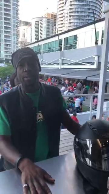 Don't pull a Kevin, come early ! #agonyofdefeat #barbados Kevin Carrington  Lennox Hunte Bajan Shakk