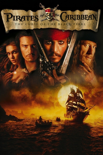 pirates of the caribbean, the curse of the black pearl