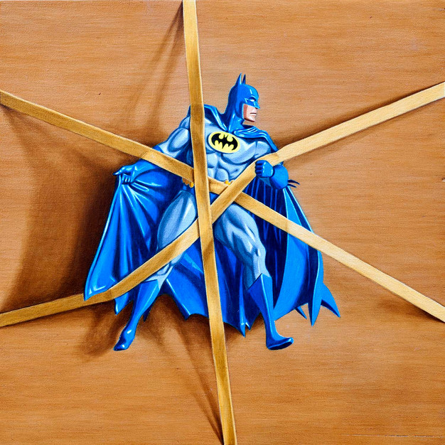 Trapped Batman no.4