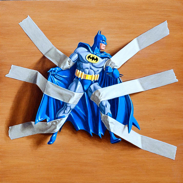 Trapped Batman no.6