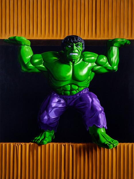 Trapped Hulk