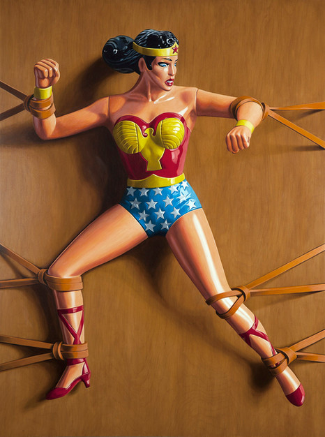 Trapped Wonder Woman
