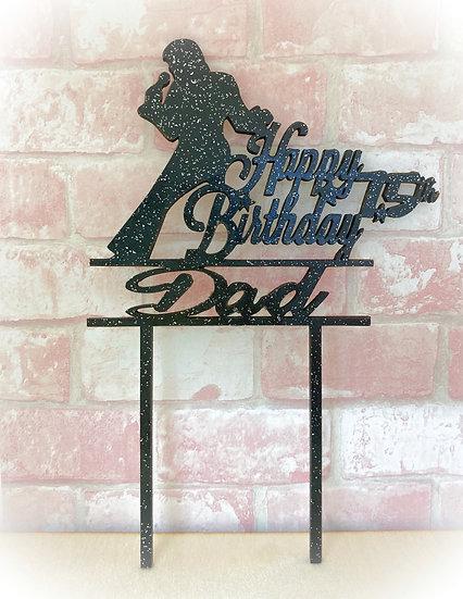 Elvis Presley Birthday Cake Topper