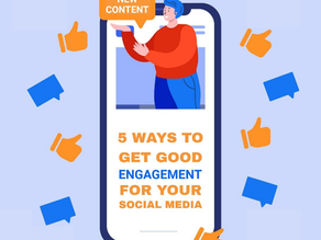 5 ways you can get good engagement on your posts