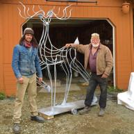 QuinnMorrissetteStudio_Sculpture_DarlingtheDeer_Process