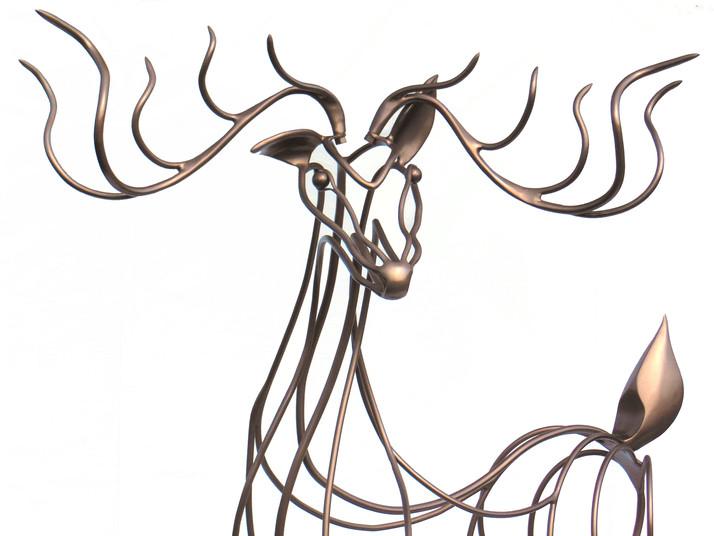 QuinnMorrissetteStudio_Sculpture_DarlingtheDeer_04